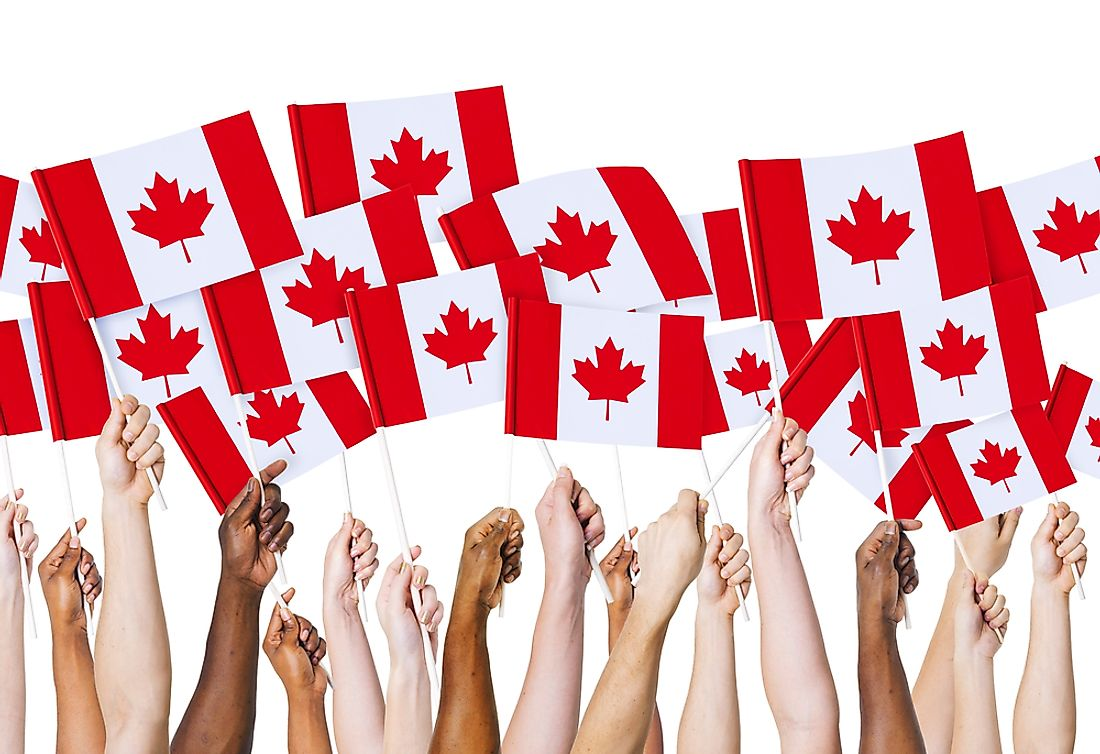 Canada Day is celebrated yearly on July 1.