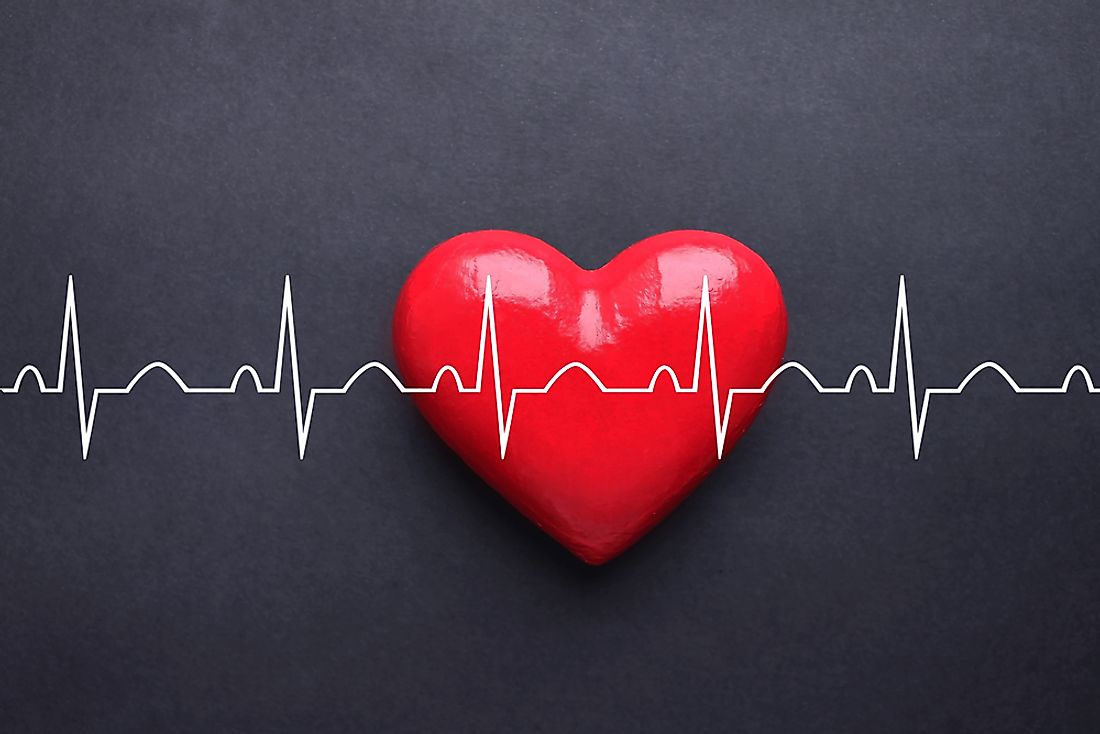 An abnormal heart rate can occur when there are electrical problems within the heart.