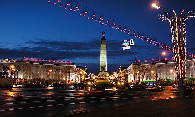 #8 Belarus -