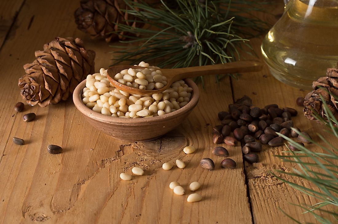 Pine nuts are grown and consumed in many countries around the world.