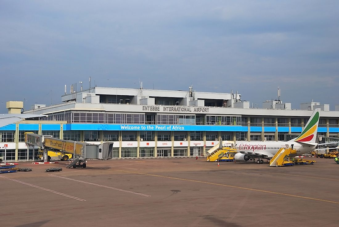 The plane was commandeered to the Entebbe Airport in Uganda. Editorial credit: Oleg Znamenskiy / Shutterstock.com