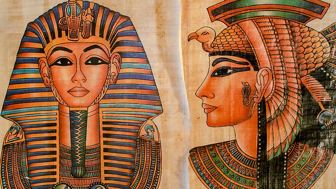 Drawings of Cleopatra.