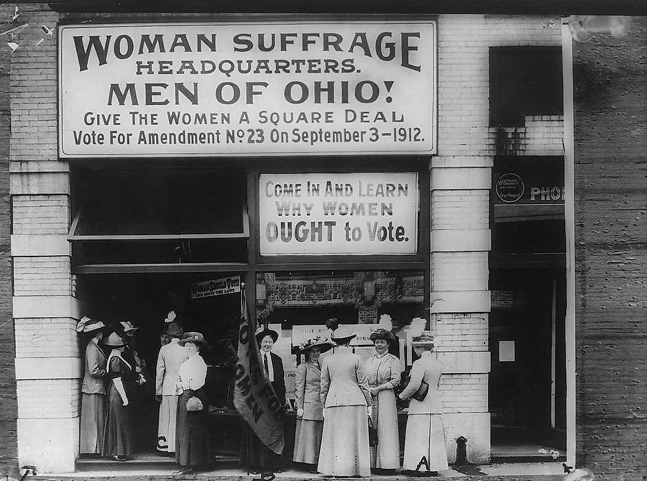 First 15 Countries To Grant Women's Suffrage - WorldAtlas.com