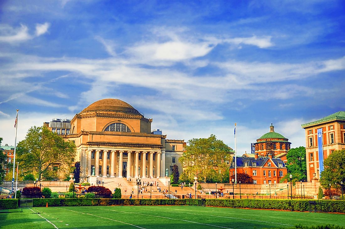 Columbia University in New York.