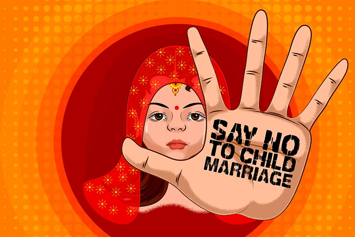 Organizations around the world are dedicated to reducing the instances of child marriages.​