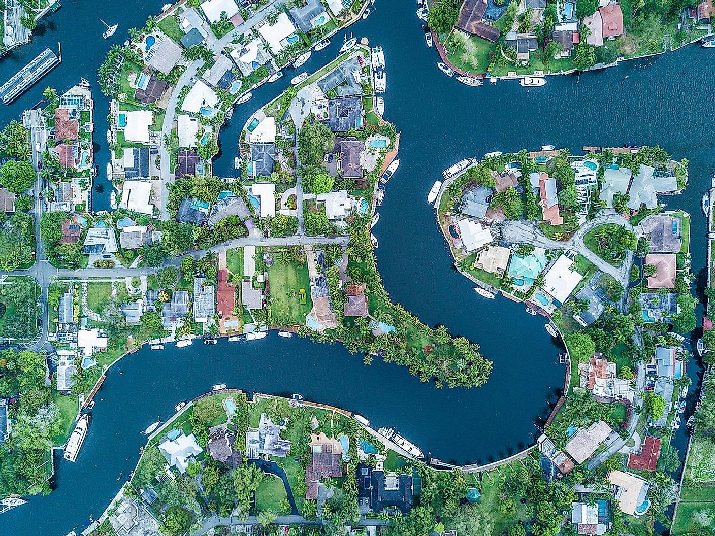 Tarpon River Neighborhood in Fort Lauderdale, Florida. Image credit: LuizCent/Wikimedia.org