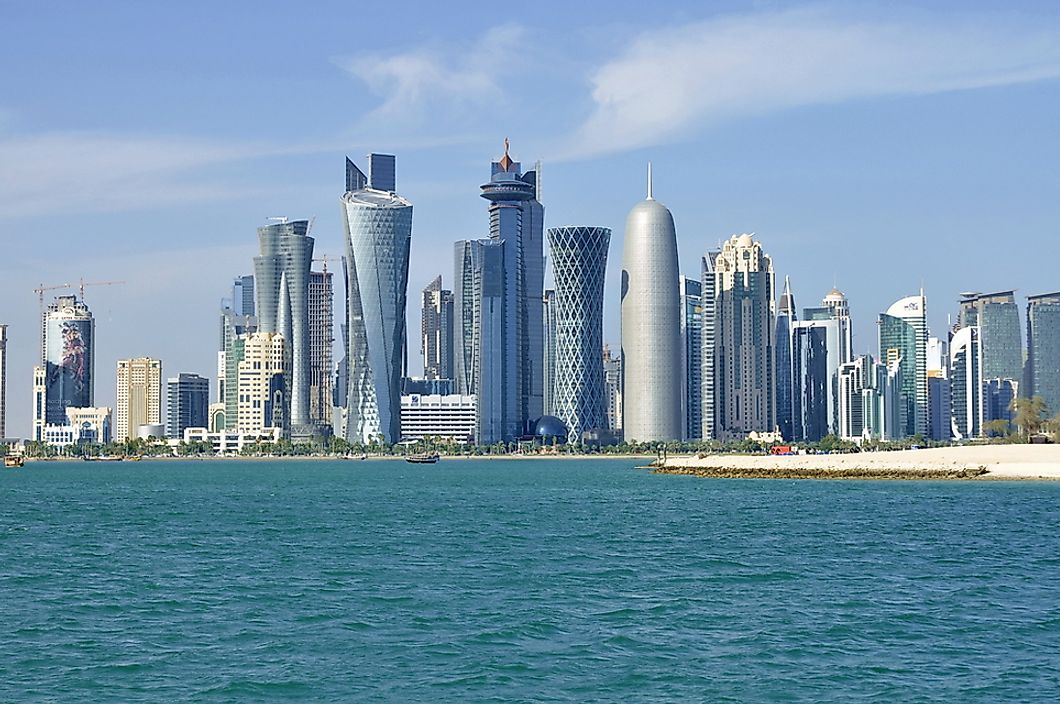 Doha is the capital and largest city in Qatar.