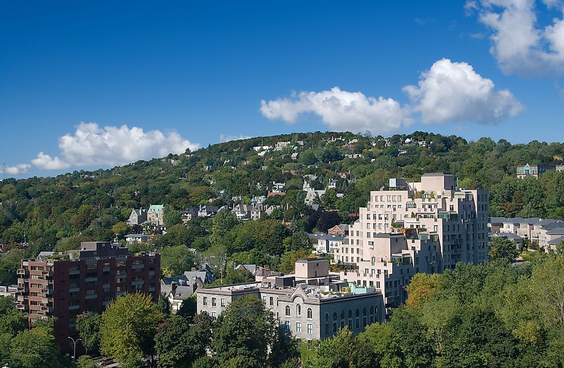 The town of Westmount, Quebec, is considered to be one of the best places to live in Montreal.