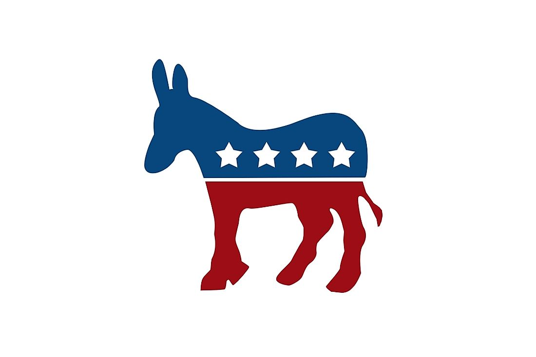 The symbol of the Democratic Party.