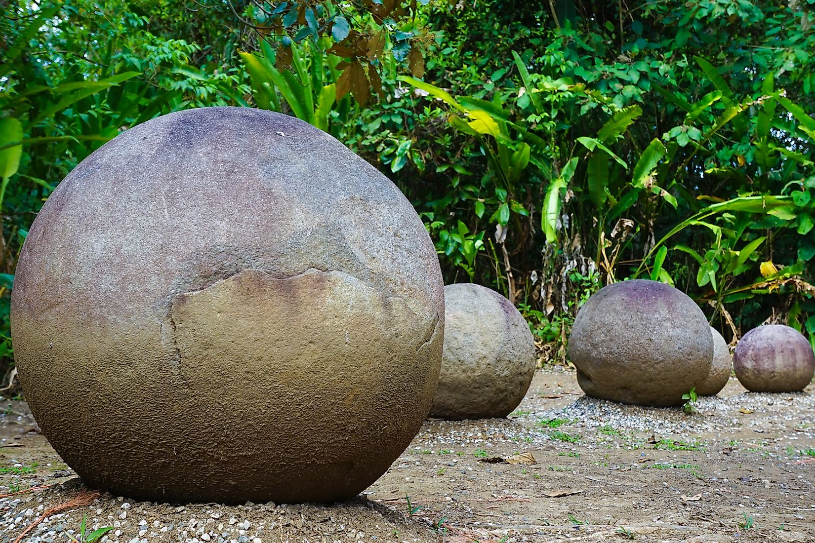 Precolumbian Chiefdom Settlements with Stone Spheres of the Diquís - Costa Rica UNESCO Site. Image credit: Inspired By Maps/Shutterstock.com