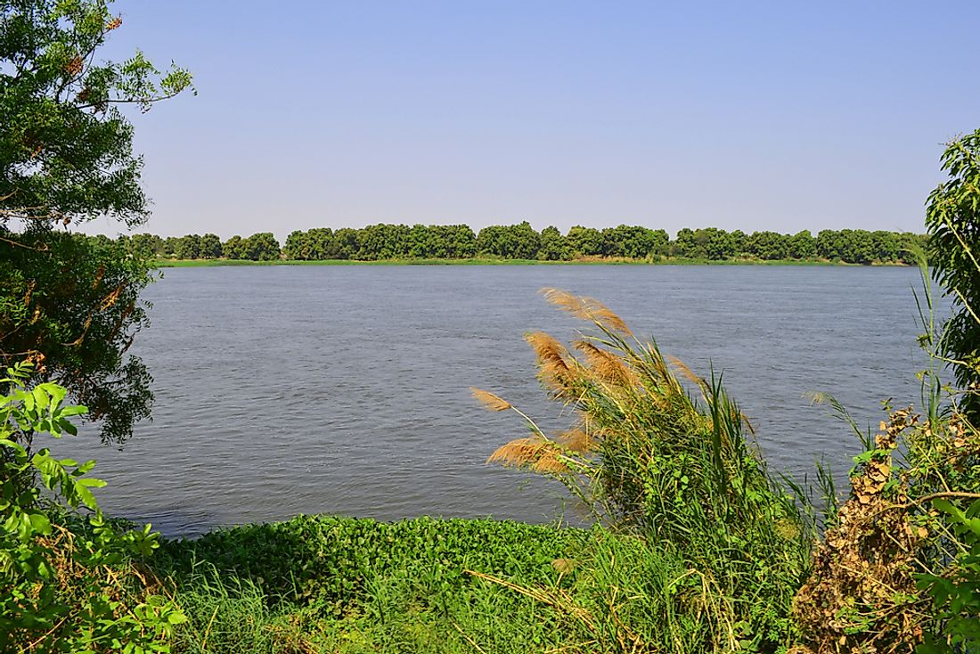 The White Nile in South Sudan.