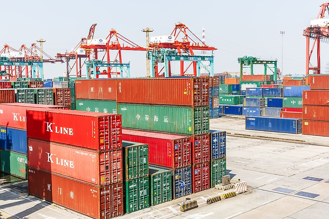 China exports more goods than any other country. Editorial credit: Zhao jian kang / Shutterstock.com.