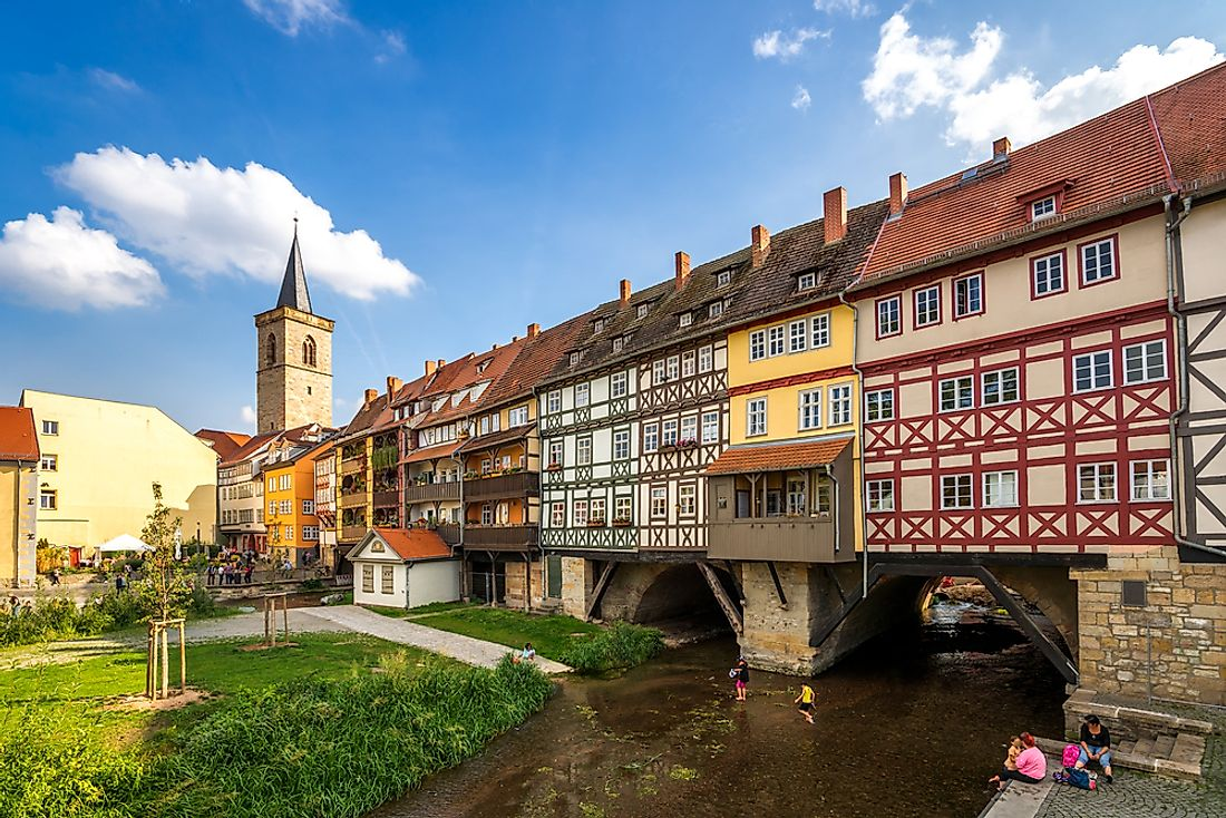Erfurt, the birthplace of Max Weber.