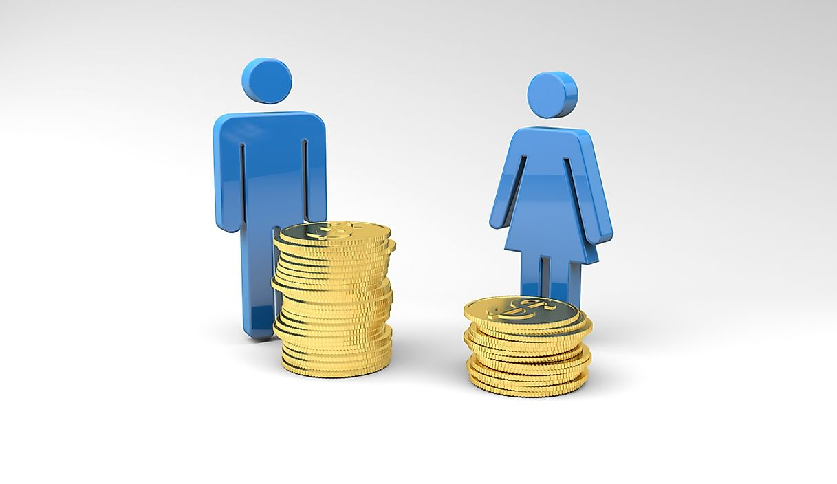 The gender gap can be felt throughout multiple industries.
