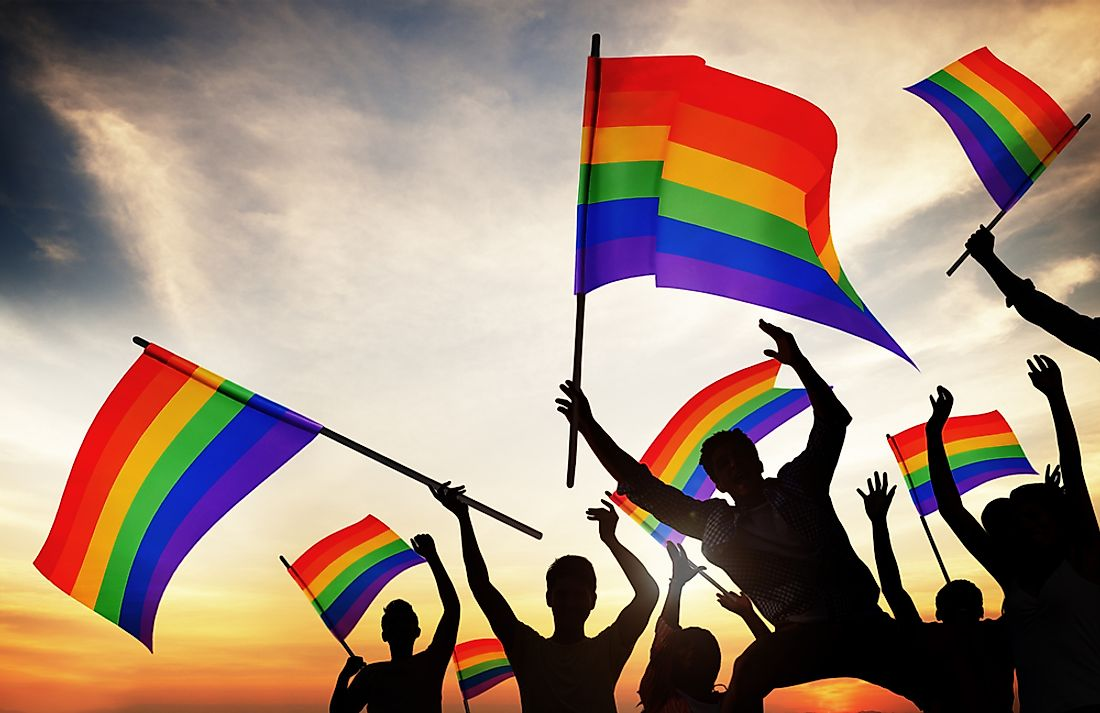 Gay marriage is now legal in a number of countries.