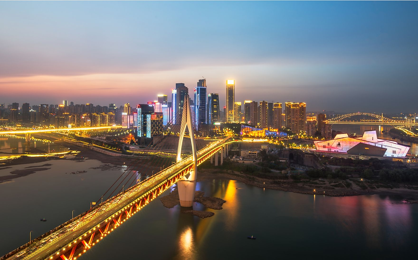 Chongqing, China, is a sprawling megalopolis of more than 20 million.