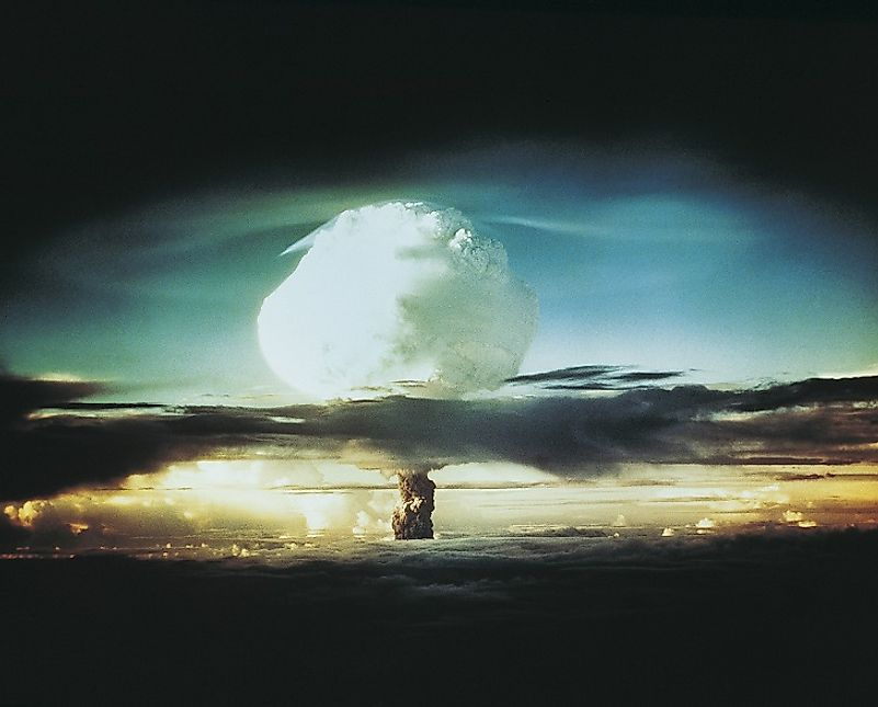 #3 Nuclear Weapons Testing -