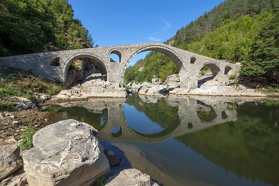 Devil's Bridge in Bulgaria's Kardzhali Region.