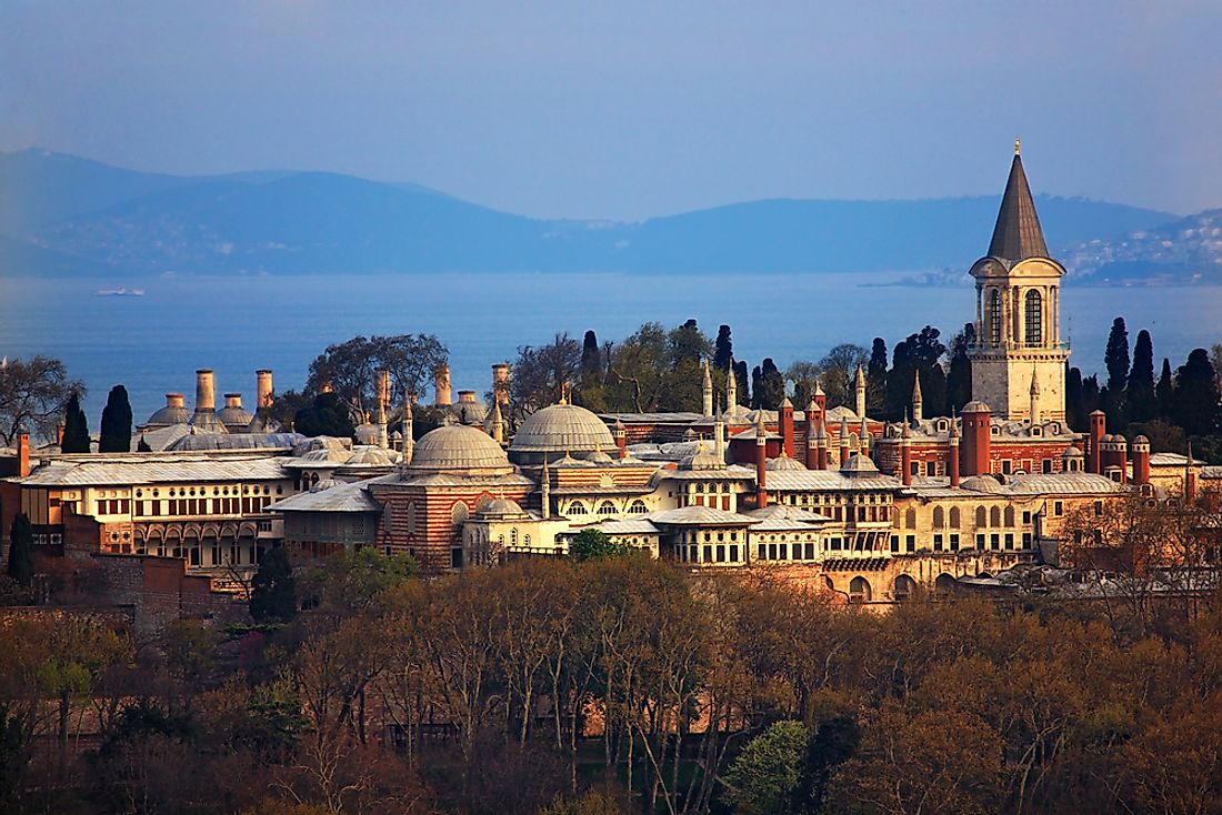 "ISTANBUL, TURKEY. The Topkapi palace, the center and the ""heart"" of the Ottoman empire for almost 400 years."