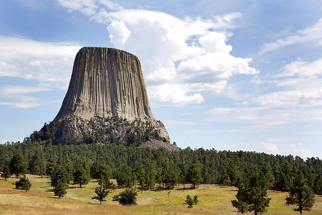 Devils Tower was designated a National Monument by President Theodore Roosevelt in June 1906.