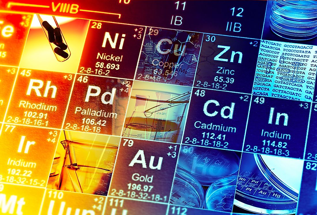 The periodic table has been in existence in the 1700s.
