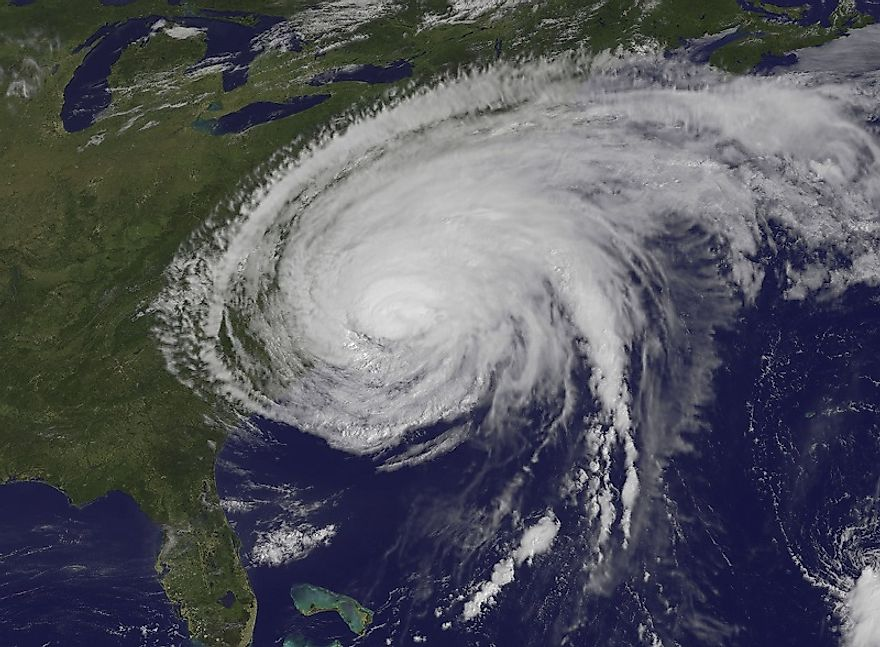 Hurricanes, such as Irene in 2011 (pictured) travel the breadth of the Atlantic before wreaking havoc in North America.