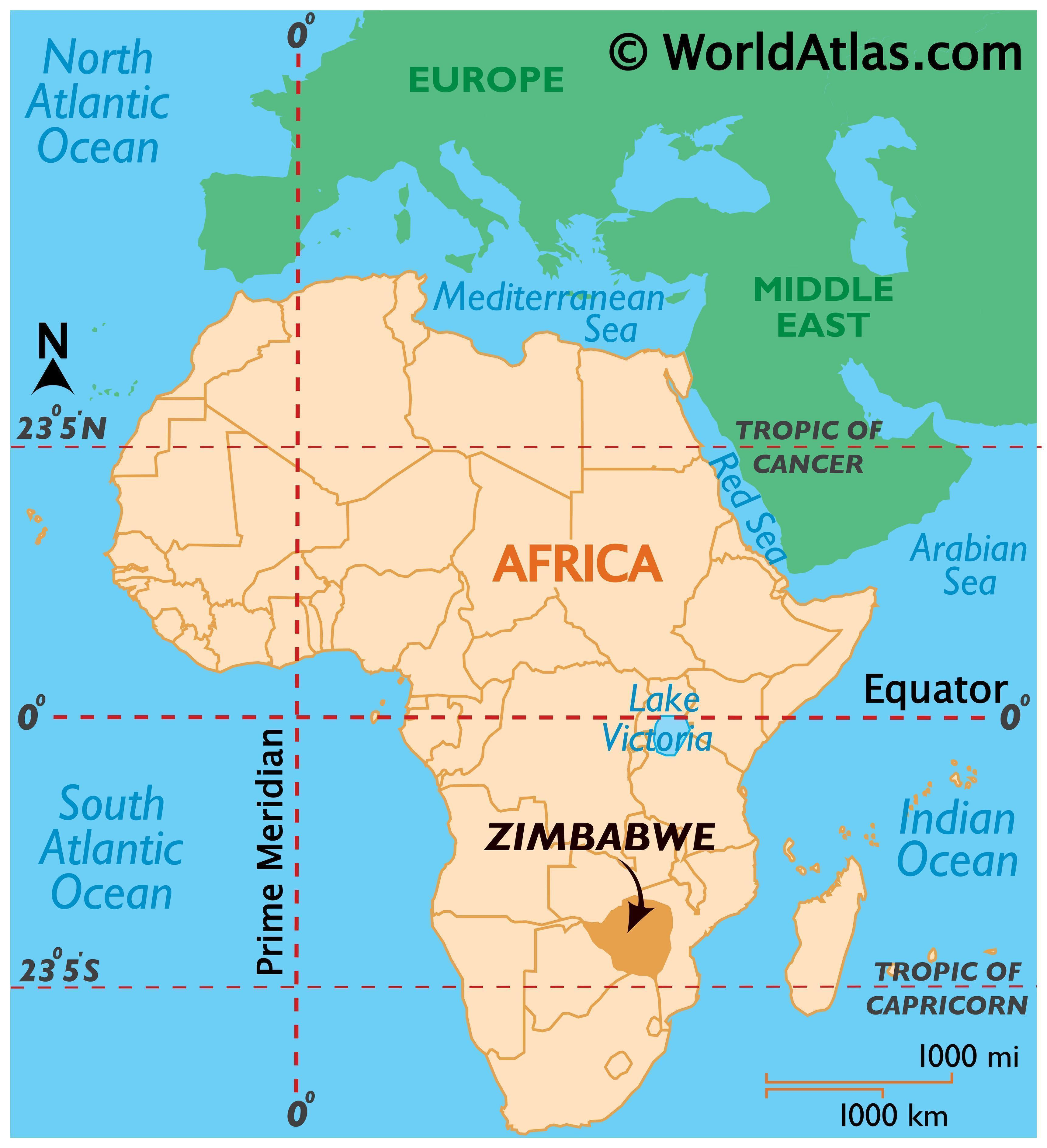 Where is Zimbabwe?