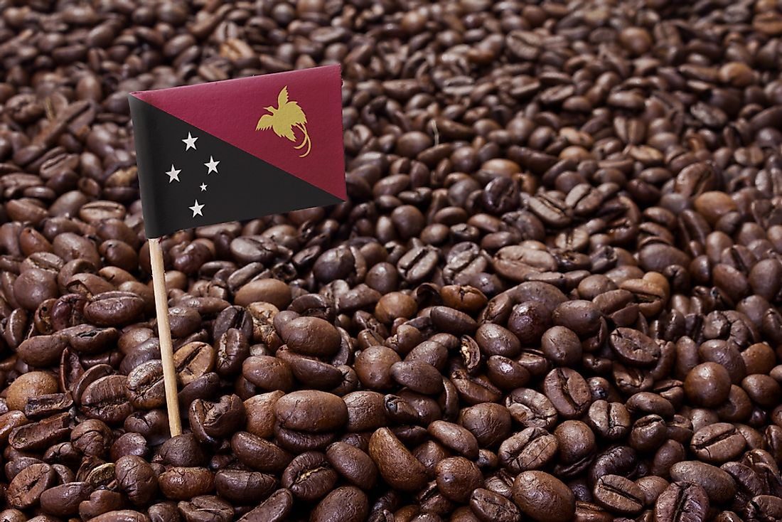 Coffee is an important part of Papua New Guinea's economy.