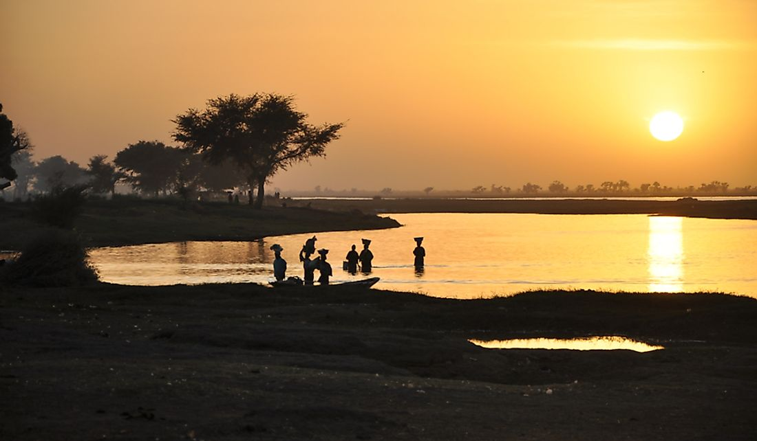 Niger is named for the Niger River.