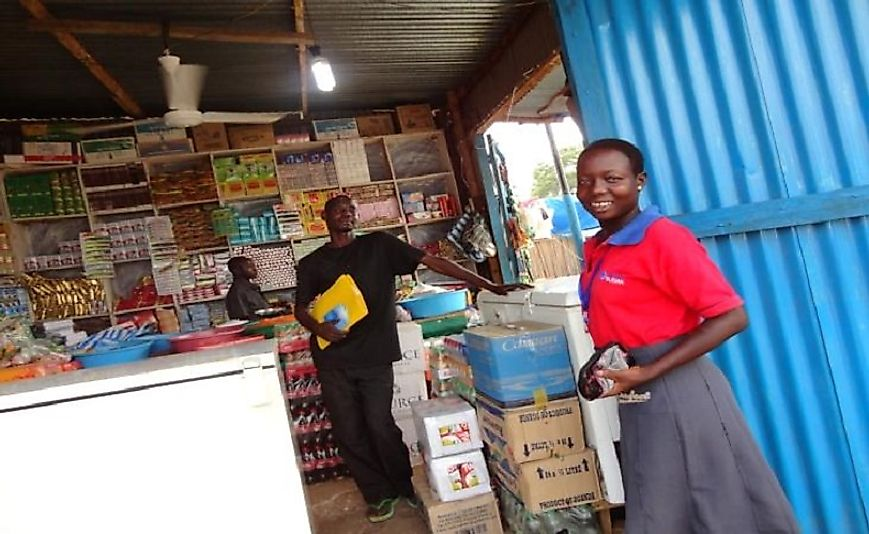 Lacking domestic financing resources, small businesses in South Sudan often turn to foreign NGOs for microloans.