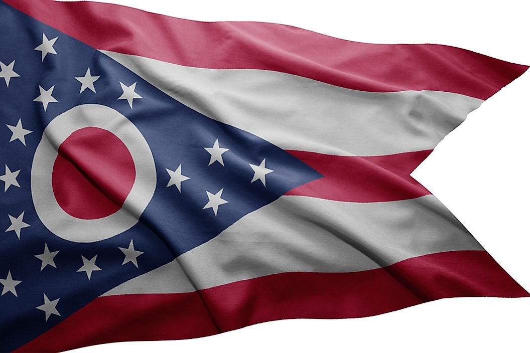 The state flag of Ohio.