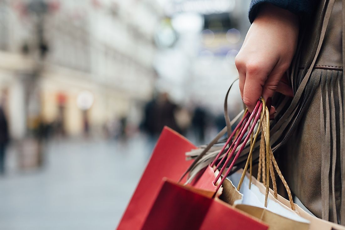 Consumer capitalism has an impact on shoppers' habits.