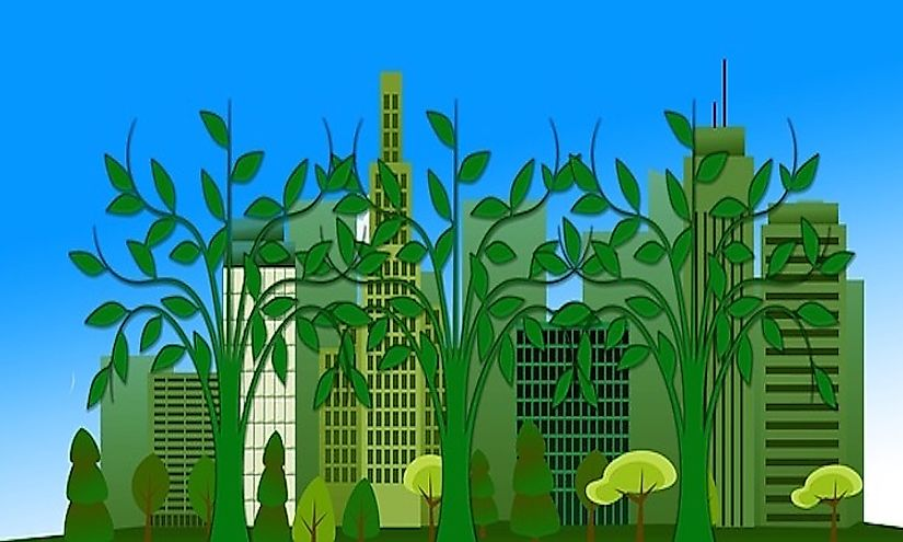 Eco-efficiency promotes development in a sustainable manner.