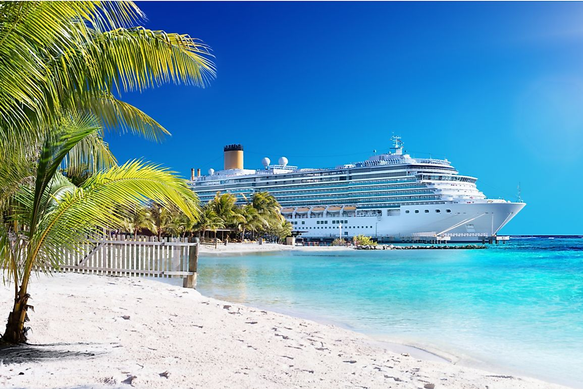 Caribbean cruises are the most booked international vacations by American tourists.