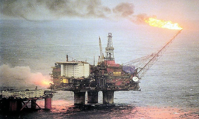 Oil production is an important economic sector in Norway.