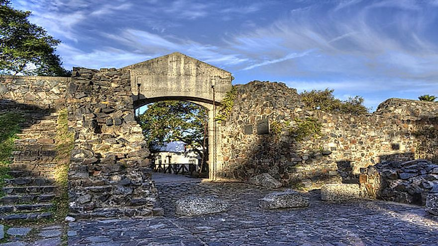 City gates of the City of Colonia del Sacramento