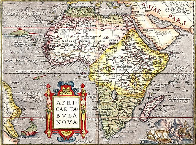 Africa map map of africa worldatlas africa tabula nova map sciox Images