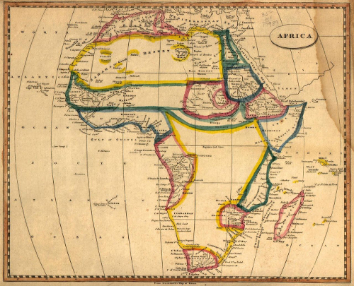 africa map through history