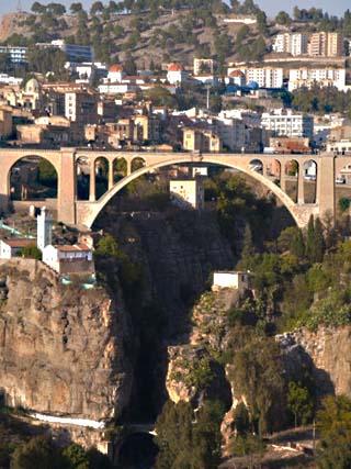 Pont De Sidi Rached Bridge, Constantine, Eastern Algeria, Algeria, North Africa, Africa