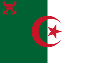 Naval ensign of Algeria