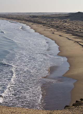 Angolan coastline