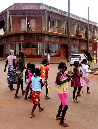 Angolan street scene