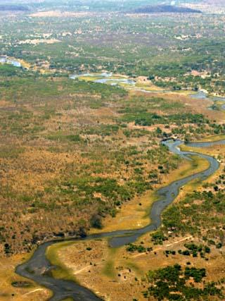 Aerial Photography of the Okavango Delta