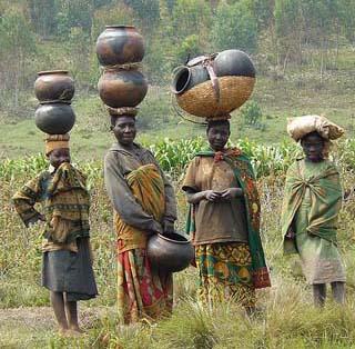Batwa women