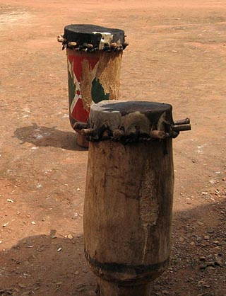 Drums from Gitega