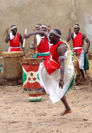 Burundian drummers