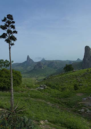 Cameroon landscape