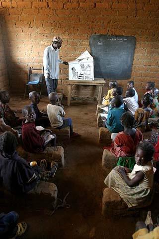 CAF classroom