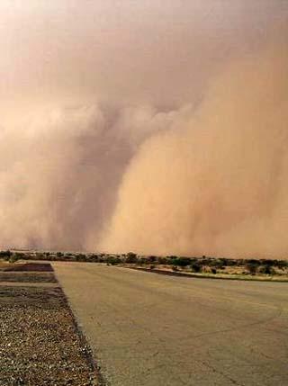 Chad sandstorm
