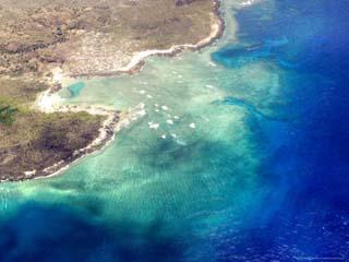 Coastal Reefs Off of the Western Comoros Islands